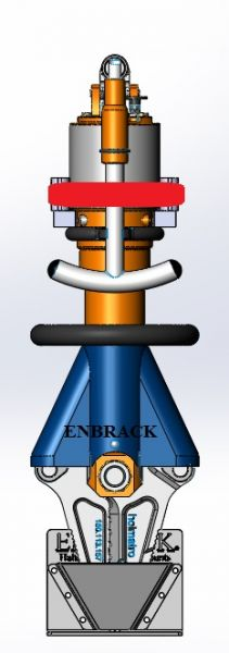 ENBRACK mount for Holmatro HCT 4120, upright