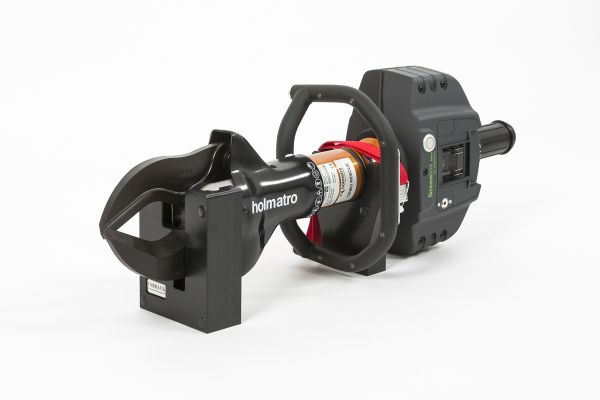 ENBRACK mount for Holmatro G/CU 5040, horizontally on the side